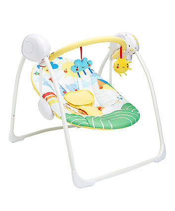 mothercare sunshine and showers baby swing