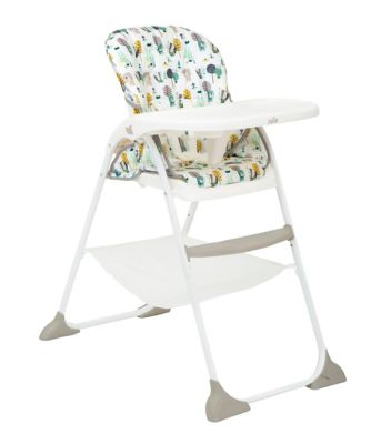 Joie mimzy snacker highchair - woodland mint *exclusive to mothercare*