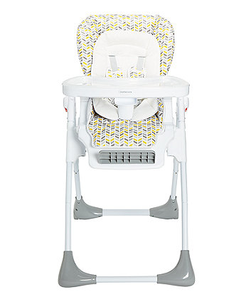 mothercare chevron highchair