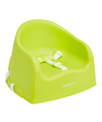 mothercare booster seat - lime