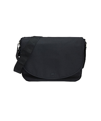 mothercare messenger changing bag - black