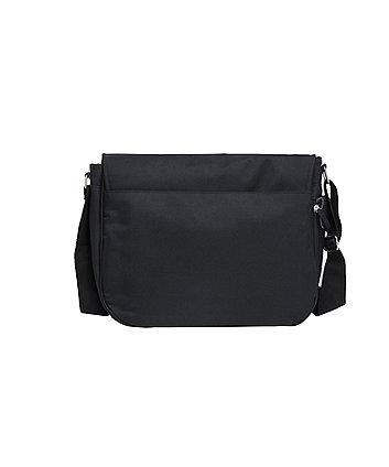 586192f0912 mothercare messenger changing bag - black