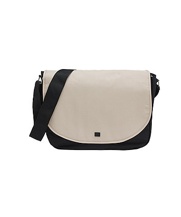 mothercare messenger changing bag - sand