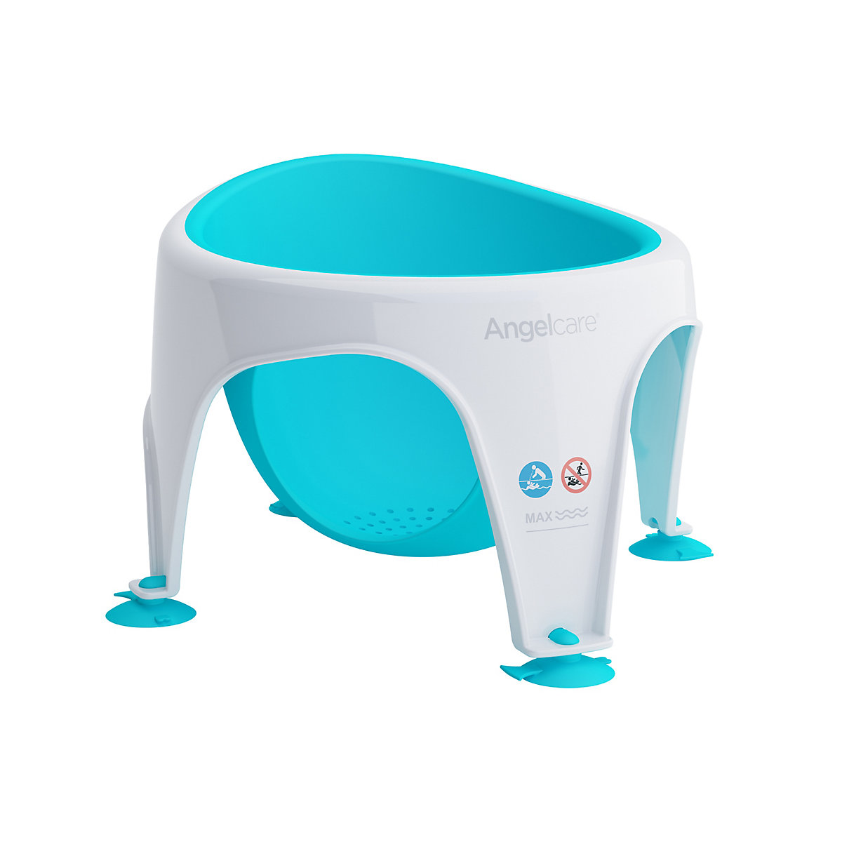 Angelcare soft-touch bath seat - aqua