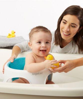 Angelcare soft-touch bath seat - aqua