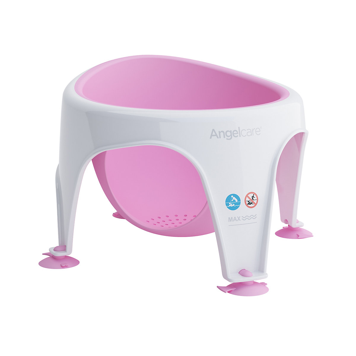 Angelcare soft-touch bath seat - pink
