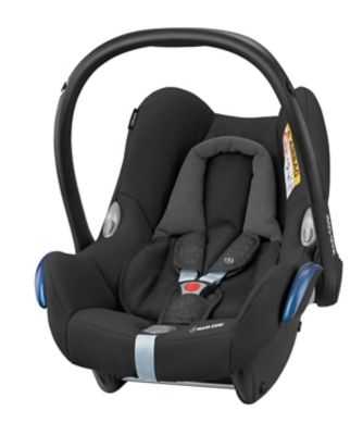 Maxi-Cosi cabriofix baby car seat and isofix