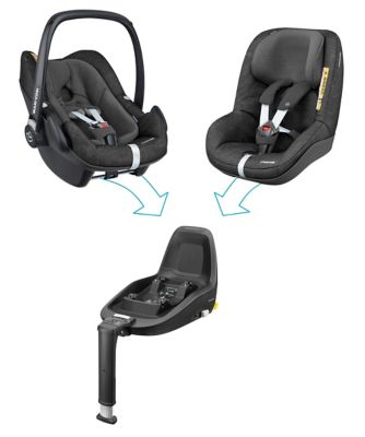 Maxi-Cosi pebble plus iSize baby car seat - nomad black