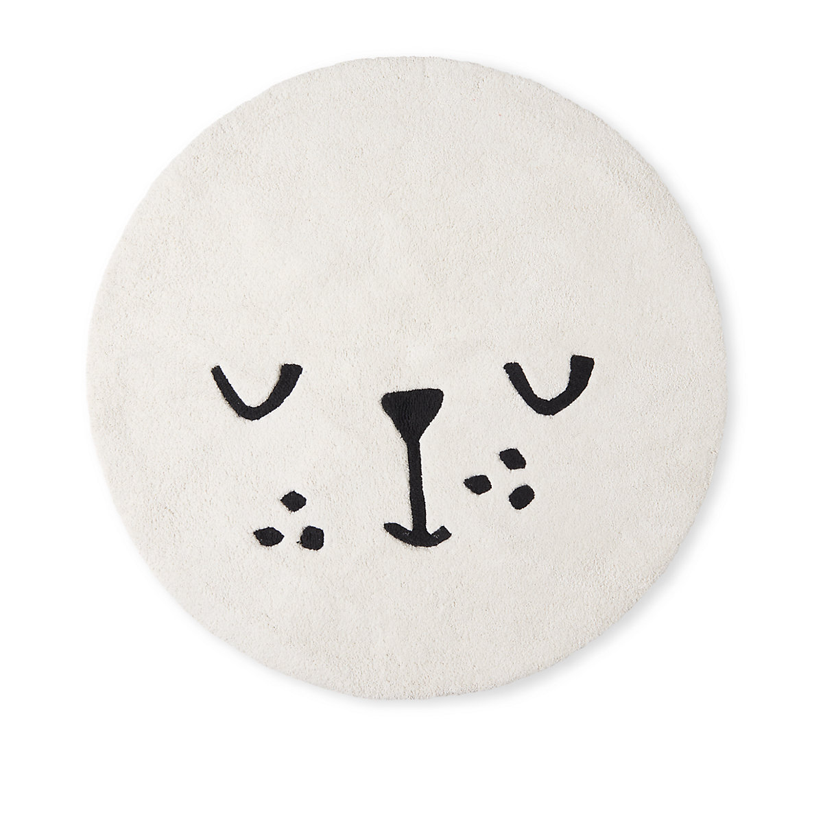 my k animal face rug