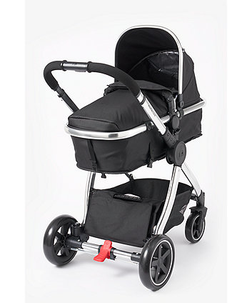 8ea2890f9 mothercare 4-wheel journey chrome travel system