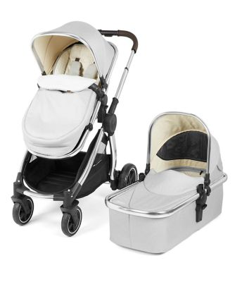 mothercare journey edit pram and pushchair - alloy