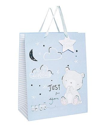 my first little bear gift bag