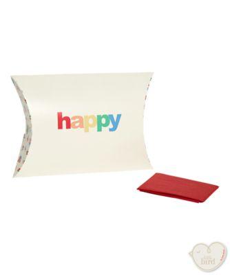little bird pillow box