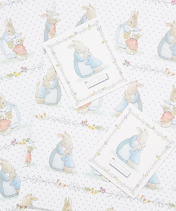 peter rabbit pattern wrap