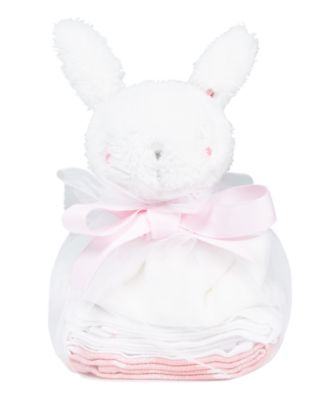 my first pink comforter and muslins gift set