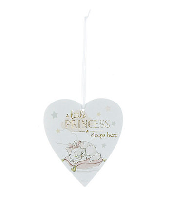 Disney magical beginnings aristocats marie heart plaque