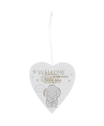 Disney magical beginnings dumbo heart plaque