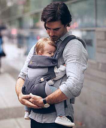 Ergobaby 360 baby carrier cool air mesh - carbon grey