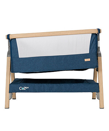 Tutti Bambini coZee® bedside crib - midnight blue *exclusive to mothercare*