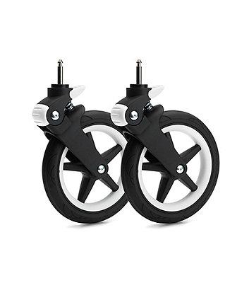 Bugaboo fox wheel caps – white