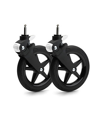 Bugaboo fox wheel caps – glossy black