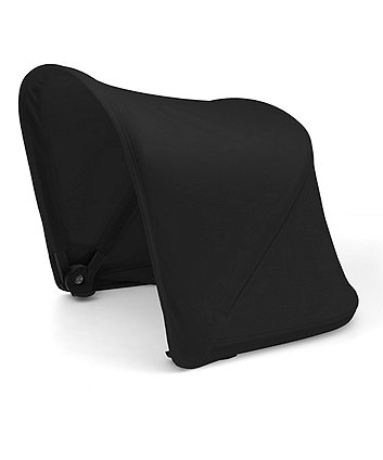 Bugaboo fox and cameleon³ plus sun canopy - black