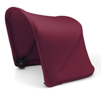 Bugaboo fox and cameleon³ plus sun canopy – ruby red