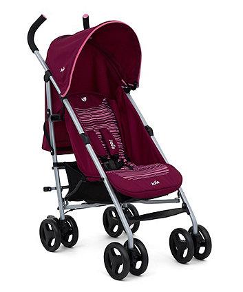 Joie nitro stroller – skewed lines pink