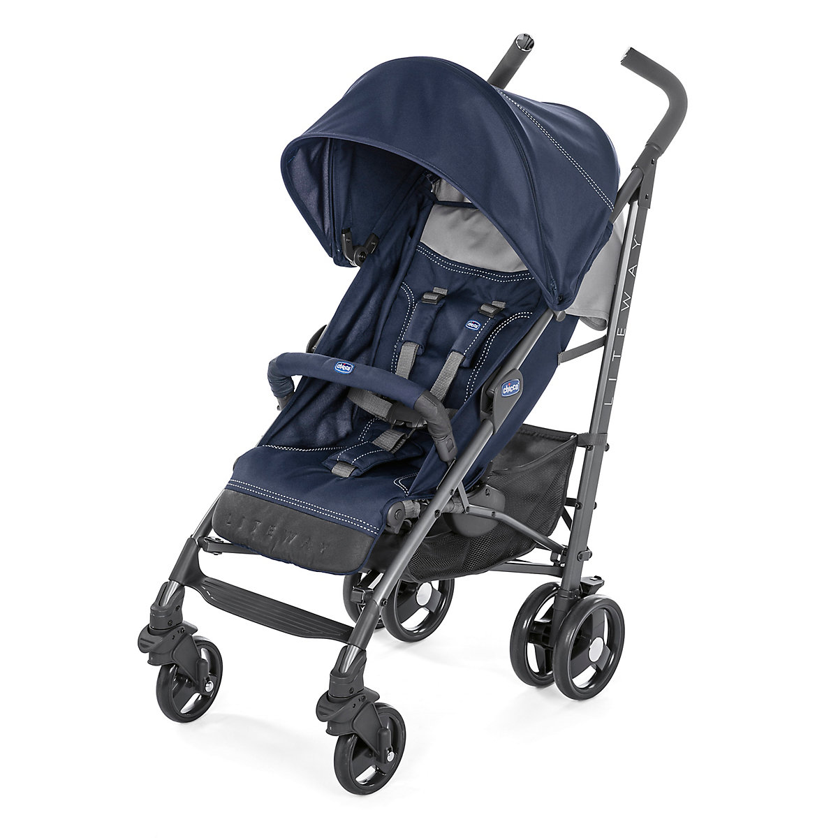 Chicco liteway stroller - india ink *exclusive to mothercare*