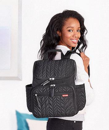 Skip Hop forma changing backpack - jet black