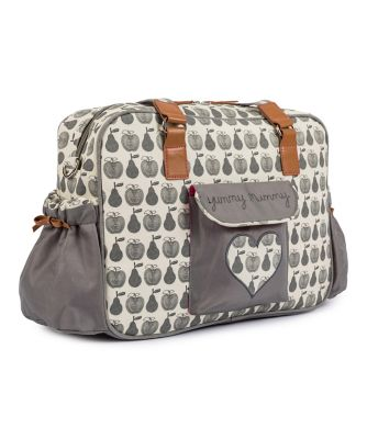 Pink Lining yummy mummy changing bag - apples and pears *exclusive to mothercare*