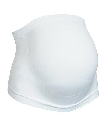 white maternity support belt