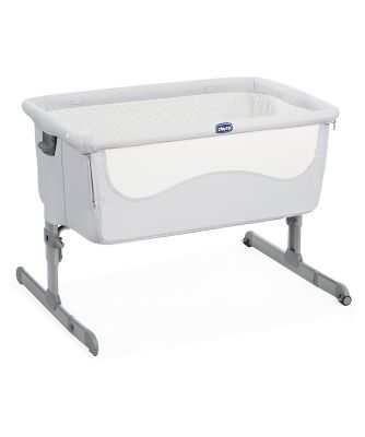 Chicco Next2Me side sleeping crib - light grey *exclusive to mothercare*