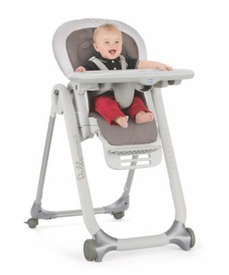 Chicco polly progress highchair - pois *exclusive to mothercare*