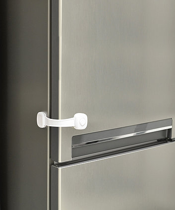 Safety 1st secret button - multi use lock - white
