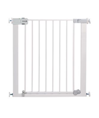 Safety 1st securtech™ auto close metal gate - white