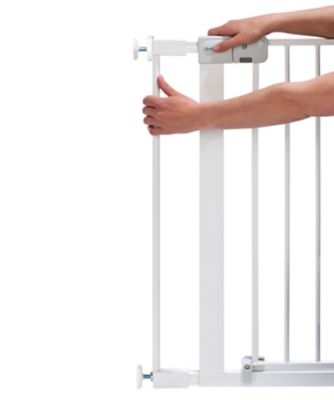 Safety 1st 7cm extension for auto/simply close and flat step safety gate- white