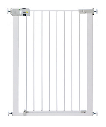 Safety 1st securtech™ simply close extra tall metal gate - white