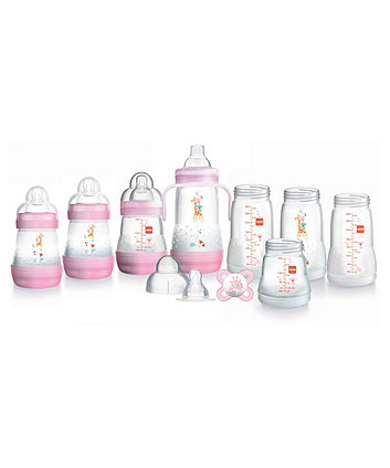 MAM easy start anti-colic bottle starter set - small (pink)