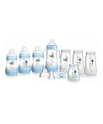 MAM easy start anti-colic bottle starter set - small (blue)