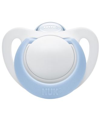 NUK genius size 1 soothers - silicone - blue