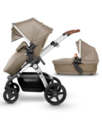 Silver Cross wave pram and pushchair - linen