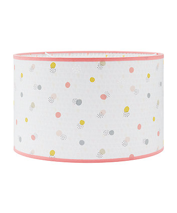 welcome home laser cut pink spot light shade
