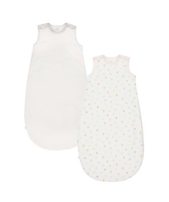 welcome home 2.5 tog pink sleep bag (2 pack) - 0-6 months