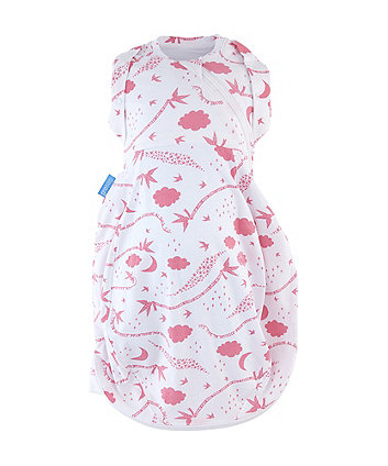 The Gro Company rob ryan spring morning grosnug 2-in-1 swaddle and newborn grobag (0-3 months, cosy)
