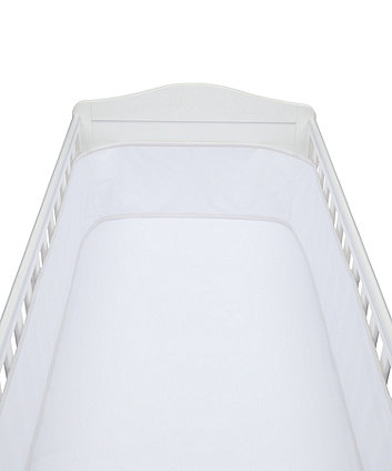 mothercare breathable mesh cot bed bumper