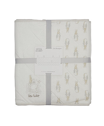 peter rabbit cot bumper