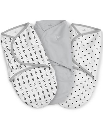 Summer Infant swaddleme® original swaddle (small)  black and white xo - 3 pack