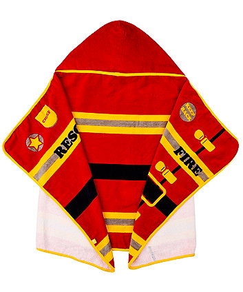 mothercare firefighter toddler towel