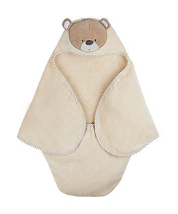 teddy's toy box swaddle wrap